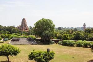 vista do templo do palácio de kumbha, rajasthan, índia foto