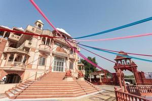 templo em banwaripur, rajasthan, índia foto