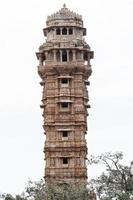 torre no forte chittorgarh, rajasthan, índia foto