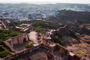 forte de jodhpur em rajasthan, índia foto