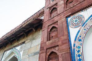mesquita isa khan em nova deli, índia foto