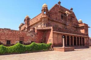 forte Pokhran em Rajasthan, Índia foto
