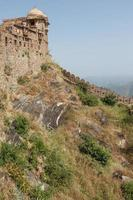 forte kumbhalgarh em rajasthan índia foto