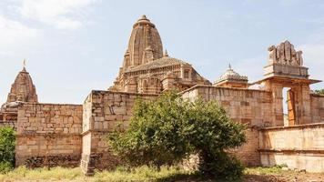 templo kumbhshyam em chittorgarh, rajasthan, índia foto