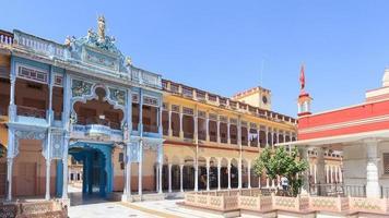 templo rani sati em jhunjhunu em rajasthan, Índia foto