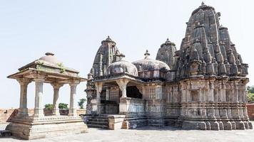 templo durga em kumbhalgarh, rajasthan, índia foto