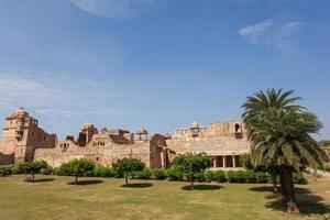 palácio kumbha em chittorgarh, rajasthan, índia foto