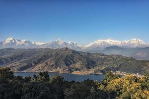 região de Pokhara e Annapurna foto
