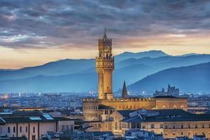 arquitetura na cidade de florença itália foto