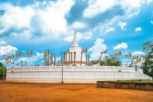 Thuparamaya é o primeiro templo budista no Sri Lanka foto