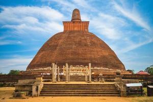 jetavanaramaya dagaba em anuradhapura insri lanka foto