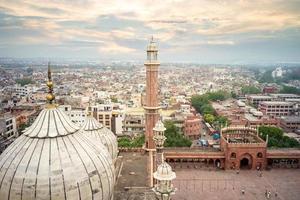 masjid jehan numa, também conhecido como jama masjid em deli, na Índia foto
