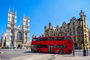 vista da rua em Londres, Reino Unido foto