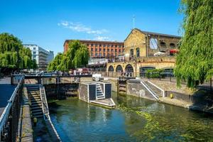 Camden Lock em Londres, Reino Unido foto
