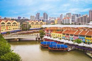 Clarke Quay em Cingapura foto