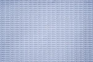 tecido de vinil branco com textura de linha tropeçada foto