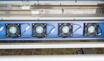equipamento de ventilação sistema impressora jato de tinta foto