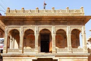 forte jaisalmer em rajasthan, índia foto