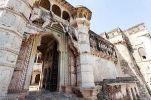 Bundi Fort em Rajasthan, Índia foto