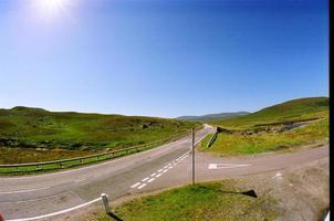 estrada e céu foto