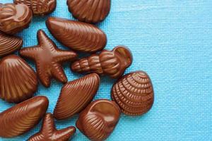 doce de chocolate tradicional belga foto