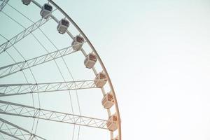fundo da roda gigante foto