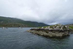 killary fjord county galway ireland foto