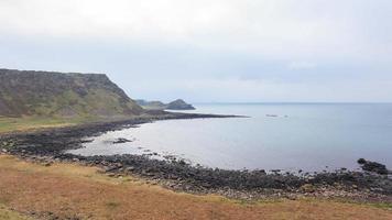 gigantesca estrada da irlanda do norte reino unido foto
