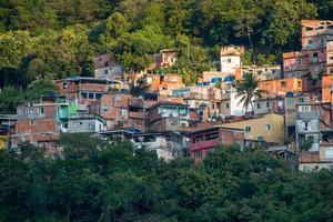 favelas da tabajara no rio de janeiro, brasil foto