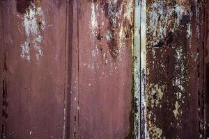 a textura do velho metal enferrujado. foto