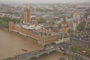 vista aérea de londres, reino unido foto