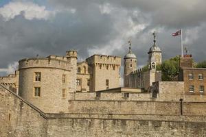 vista da torre de londres, londres, reino unido foto
