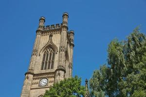 catedral de liverpool em st james mount em liverpool, reino unido foto