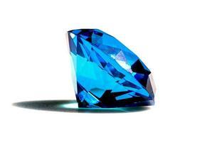 lindo diamante azul foto