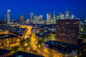 o horizonte de frankfurt foto