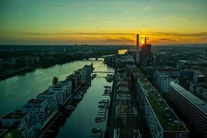o frankfurt westhafen foto