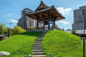 um pagode em taipei em taiwan foto