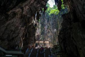 as cavernas batu em kuala lumpur foto