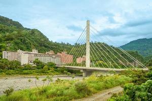 área de fontes termais de Zhiben em taitung, taiwan foto