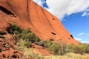 território uluru nothern austrália foto