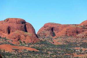 parque kata tjuta território norte austrália foto
