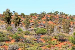 Aeroporto de Ayers Rock Território do Norte da Austrália foto
