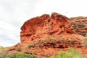 kings canyon território norte austrália foto