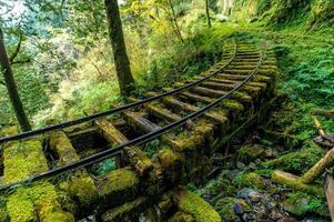 ferrovias abandonadas em yilan, taiwan foto