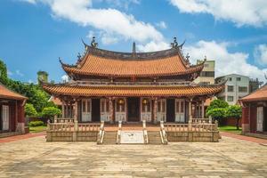 templo de confucius em changhua, taiwan foto