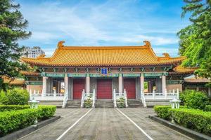 templo de confucius em taichung, taiwan foto