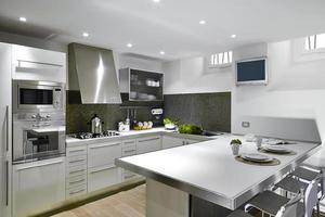 fotos de interiores de uma cozinha moderna