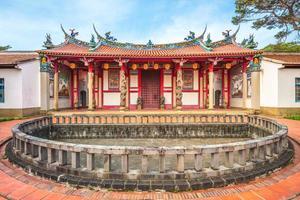 templo de confucius em hsinchu, taiwan. foto