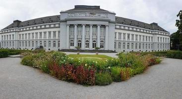 o palácio eleitoral em koblenz, alemanha foto