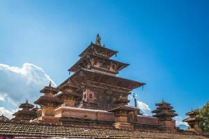 templo taleju na praça kathmandu durbar em nepal foto
